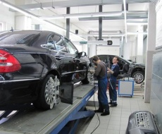 Выполнение развал-схождения авто в СВАО